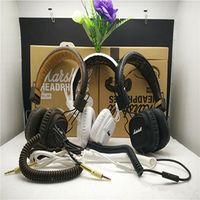 Cheap Marshall Major headphones With Mic Deep Bass DJ Hi-Fi Headphone HiFi Headset Professional DJ Monitor Headphone