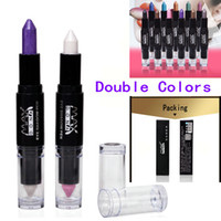 Wholesale Hot Sale Makeup Tools Professional Colors Double Head Eye Shadow Pencil Lying Silkworm Pencil Color Eye Shadow Pencil