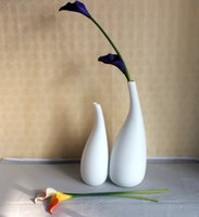 Wholesale White fashion vase ceramic vase on table decoration house vase