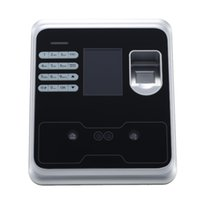 Wholesale 200 FACE USERS USB FACE RECOGNITION NO NEED SOFTWAER FINGERPRINT TIME RECORDER OFFICE EQUIPEMENT