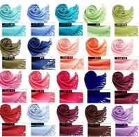 Wholesale New Free Ship Mix Colors Cashmere scarfs Pashmina shawl scarf nova women scarfs wraps Scarves