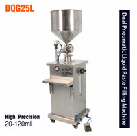 Wholesale DQG25L vertical pneumatic paste Liquid Filling Machine Butter cream cosmetic facial cleanser filling machine ml