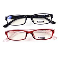 acrylic reading glasses - New Computer Reading Glasses Eyewear Spectacles Fullrim Frame Eyeglasses Shade Optical Plano Acrylic Clear Lens Antiradiation Rectangle Nerd
