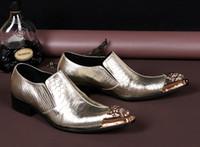 best comfortable pumps - 2016 New Brand Classic Men s Business Oxfords Pointed Toe Best Quality Comfortable Dress Shoes Flats Men Shoes Gold Plus Size