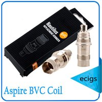Wholesale aspire BVC bottom vertical coil DHL Free bdc coil nautilus mini Feature Bottom vertical coil Material stainless steel