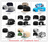 Wholesale New Arrival Snapbacks Hats Cap Cayler Sons Snap back Baseball casual Caps Hat Adjustable size drop Shipping choose hats from our album