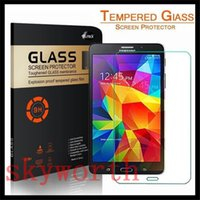 Wholesale 9H Premium Tempered Glass Screen Protector Film Guard for Samsung Galaxy Tab P5200 P3200 T530 Lite T110 W retail package