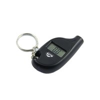 Wholesale Mini Keychain LCD Digital Tire Tyre Air Pressure Gauge For Car Auto Motorcycle