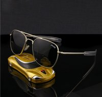 air force sunglasses - News Flyer Glass Air Force RE Brand designer Men Metal Polarized SUNGLASSES lunettes mm oculos gafas ao