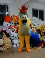 bowser costume - Hot selling Adult cute High quality SUPER MARIO BOWSER KOOPA Adult Size Mascot Costume Fancy Outfit