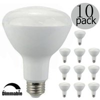 Wholesale Pack of Dimmable BR30 LED Bulb W W equivalent K Warm White Glow Wide Flood Light Bulb Beam Angle E26 UL Liste