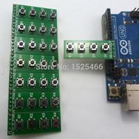 arduino button switch - Push Button Switch Keyboard Module key Board Keypad for Arduino DUE Breadboard Leonardo ZERO Tre Micro banana pi Zigbee