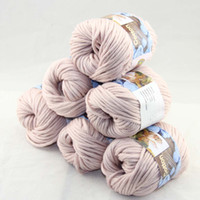 Wholesale of BallsX50g Special Thick Worsted Cotton Knitting Yarn Linen