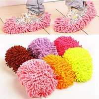 aluminum cleaner polish - Pair Lazy Cleaner Dusting Cleaning Foot Shoe Mop Slipper Floor Polishing Cover Cleaner