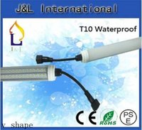 Wholesale T10 tube light high brightness W W W W smd2835 with waterproof connector lm led