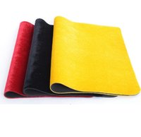 Wholesale colors mat table pad fleece lined goods flannel magic tool poker coin playmat board game playmats magician tools