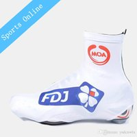 Wholesale 2016 Team FDJ NEW Cycling shoes Case Road Cycling ciclismo Shoe Protector bicycle shoe covers waterproof