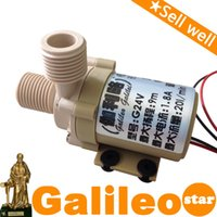 Wholesale Silent brushless DC miniature pressure booster pump miniature pump Galileo explosion models