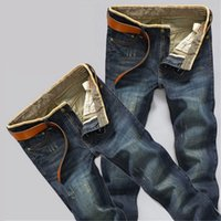 Wholesale The new men s fashion straight jeans casual men s jeans straight jeans
