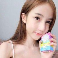 Wholesale HOT OMO White Plus Soap Mix Color Plus Five Bleached White Skin Gluta Rainbow Soap Fruit soaps DHL
