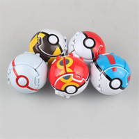 Wholesale 7cm Explosive Elf Ball Children Poke Go Pikachu Toys Anime Action Figures Elf Minifigures Kids Best Birthday Christmas Gifts