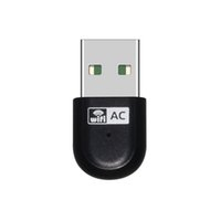 Wholesale 10pcs G G Wireless Dual Band AC600 Mbps AC USB Wi Fi Network Adapter WS WN68A1 Black D3399A