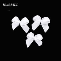 Cheap Hot 200PCs Grosgrain Ribbon Bows Wedding Dress Decor Scrapbooking Embellishment Sewing Accessories Hair Accessories 5 Colors order<$18no tra