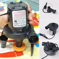 Wholesale 220V AC Car Electric Air Pump For Camping Airbed Boat Toys Inflator Novel Design