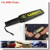 Wholesale Professional Portable Garrett Handheld Super Scanner Metal Detector high quality via DHL Fedex