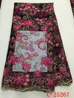 accept paypal - Africa printing fabric sales teal color french lace fabric wedding party from paypal accepted stores C