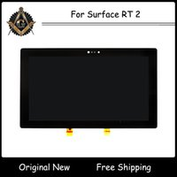 Wholesale 100 Original Tested for Microsoft Surface RT Gen LCD Display Panel Screen with Digitizer Touch Screen Glass Assembly