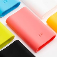 Wholesale Muti Colors Original Xiaomi Protective Soft Silicone Case Sleeve Cover universal Dust Protector Pro for mAh Power Bank Kit