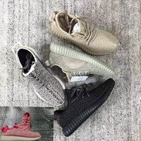 Wholesale Top quality New Boost Kanye Shoes Boots Pirate Black Oxford Tan Moonrock Running Shoes Sneakers Outdoor mens womem Shoes HOF0403