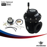 Wholesale PQY RACING UNIVERSAL BLOW OFF VALVE BOV SUPER SQV IV SSQV IV Black or Silver replicate Original color box PQY5730