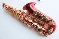 Wholesale Hot Sale Alto Saxophone with Gold Lacquer Surface Brass Material Eb Tone and Can be Customized