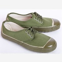 Wholesale JIEFANGXIE Sichuan military training of green yellow sneakers shoes work shoes