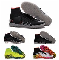 Wholesale Soccer Cleats Neymar NJR X Hypervenom Phantom JR Soccer Boots HypervenomX Proximo TF IC Turf Indoor Soccer Shoes Hypervenoms Football Boots