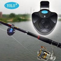 automatic buffer - Hot Outdoor Automatic Buffer Electronic LED Light Fish Bite Alarm Bell Clip On Fishing Rod Volum
