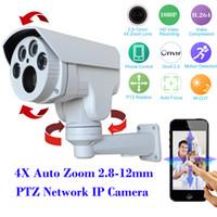 Wholesale HI3516C SONY IMX222 Full HD P PTZ Security IP camera Outdoor XAuto Zoom mm Varifocal Lens MP IR Cut CCTV Camera