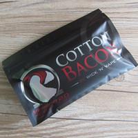 bacon - USA Original COTTON BACON Pure Bacon Cotton For DIY RDA RBA Atomizers E Cigarette Vaporizers