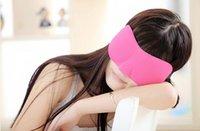 Wholesale Sleep Masks D sponge Soft Eye Mask Shade Nap Cover Blindfold Sleeping Travel Rest Christmas gift DH177