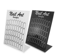 Wholesale Manicure In Black And White Plastic Display Card This Manicure Special Color Factory Shop