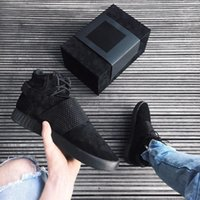 ankle strap boots - Originals Top Quality Kanye West Season Boots for Men and Women Tubular Invader Strap Mens Ankle Boot Size