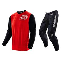 Wholesale Troy Lee Designs TLD GP HOT ROD MX GEAR COMBO RED MIDNIGHT MTB Motorcycle Racing Mountain Bike Suit LTDs
