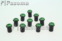 Wholesale PAZOMA New Motorbike Fairing Windscreen Screw Bolt Kit Windshield Mounting Nuts Wellnut For Kawasaki KX KLX KLR
