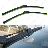Wholesale Auto Soft Windshield Wiper Boneless Wiper Blade Plastic Strip Inch with Green Protection Cover good quality