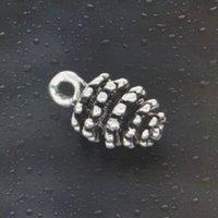 antique deals - HOT Fashion deal apple Charms Antique Silver Alloy Jewelry DIY For Pandora Bracelet Pendant Necklace mm