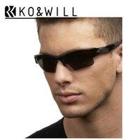 alloy jacket - KOWILL Flak brand Sunglasses o Men Retro Sports Style jacket Quality Vintage Sun Glass Oculos de Sol Femenino pairs Gafas de Sol len