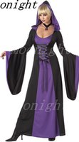 adult wicked witch costume - Hot Deluxe Wicked Queen Costume Women s Witch Evil Sorceress Cosplay Dress Adult Halloween Costume Fancy Dress