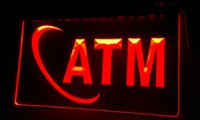 atm neon sign - LS078 r ATM Money Machine Displays Neon Light Sign